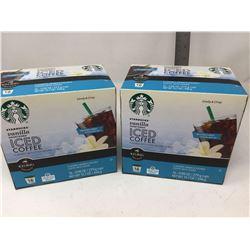 Starbucks Vanilla Iced Coffee K Cups (2 x 16)