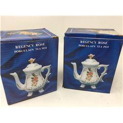 Regency Rose Porcelain Tea Pot (2)