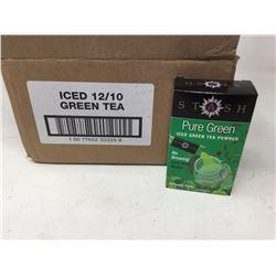 Case of Stash Pure Green Iced Green Tea Powder (12 x 10)