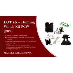 Hunting Winch Kit PCW3000