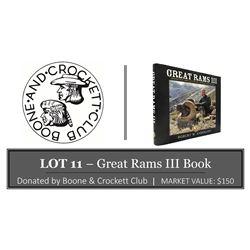"""Great Rams III"" Book"