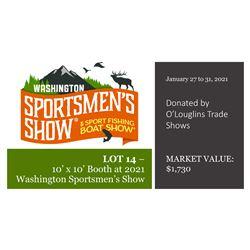 2021 Booth Donation - Washington Sportsmens Show