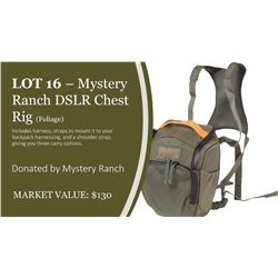 Mystery Ranch DSLR Chest Rig in Foliage