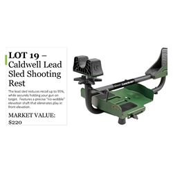 Caldwell Lead-Sled Shooting Rest