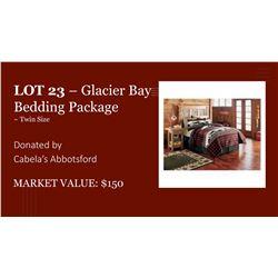 Cabela's Glacier Bay Comforter Set, Twin ~ 3 Pieces
