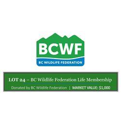 BC Wildlife Federation Life Membership