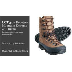 Pair of Kenetrek Mountain Extreme Boots