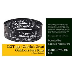 Cabela's Great Outdoors Fire Ring