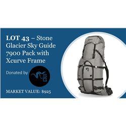 Stone Glacier Sky Guide 7900 pack with Xcurve frame & medium belt