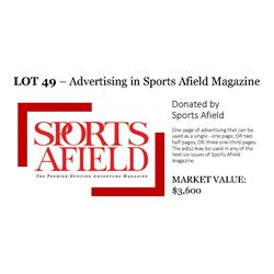 1 Full page ad OR 2 - 1/2 page ads OR 3 - 1/3 page ads (lot 1 of 2)