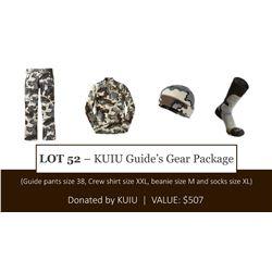 Package of KUIU Gear