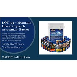 Mountain House 12 Pouch Sampler Bucket (1 of 2)