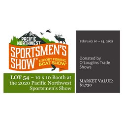 2021 Booth Donation - Pacific Northwest Sportsmens Show