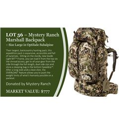 Mystery Ranch Marshall Backpack in Optifade Subalpine ~ Size Large