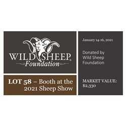 2021 Booth Donation - Sheep Show