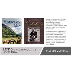 Backcountry Book Duo - Mountain Man and Cataline