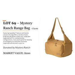 Mystery Ranch Range Bag in Coyote