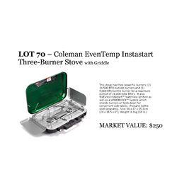 Coleman Even-Temp+ Camp Stove