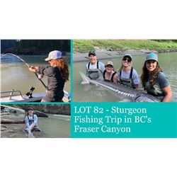 Great River Sturgeon Fishing Trip in BC's Fraser Canyon & Shore Lunch by Sossy Outoors