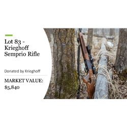 Krieghoff Semprio Rifle 300 Win Mag