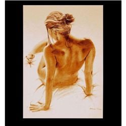 Signed & Numbered Limited Edition Nude Study Giclee Print