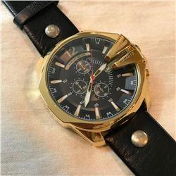 Men's Stainless Steel Quartz Wristwatch