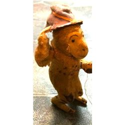 Vintage Japan Dandy Wind Up Monkey Toy