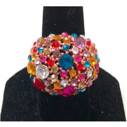 Multi-colored Crystals Circus Ring