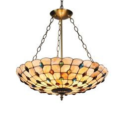 Mosaic Style Multi-color Pendant Light