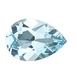 5.95cts Natural Sky Blue Topaz Pear Shape Gemstone