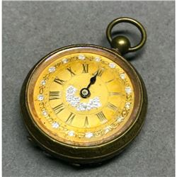 19thc Ladies Gold Filled Pocket Watch