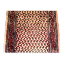 Vintage Bidjar Carpet 19' Hallway Runner