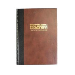 Vintage William Henry Jackson's Rocky Mountain Railroad Photography Book