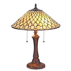 Tiffany-style Art Glass Table Lamp