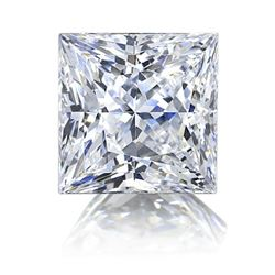 3ct Princess Cut Lab-created Bianco® Diamond