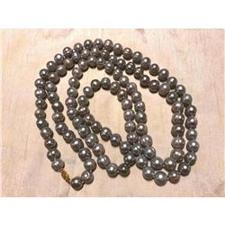 "12-13mm Large Baroque Gray Pearls 50"" Necklace"