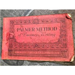 1926 Palmer Method of Business Writing Booklet