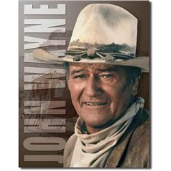 John Wayne, Stagecoach Metal Pub Bar Sign