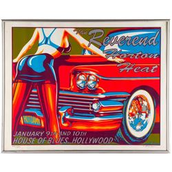 Reverend Horton Heat Poster, Marco Almera