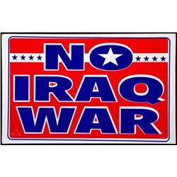 Iraq War.