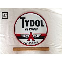 TYDOL FLYING A TIN SIGN (REPRODUCTION)