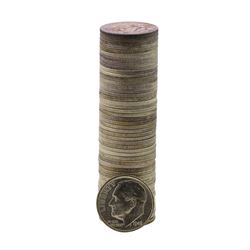 Roll of (50) Brilliant Uncirculated 1946-S Roosevelt Dime Coins