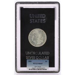1885-P $1 Morgan Silver Dollar Coin GSA Hoard PCGS MS65