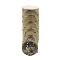 Roll of (40) Brilliant Uncirculated 1961 Washington Quarter Coins