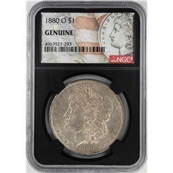 1880-O $1 Morgan Silver Dollar Coin NGC Genuine