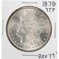 1878 7TF Reverse of 79' $1 Morgan Silver Dollar Coin
