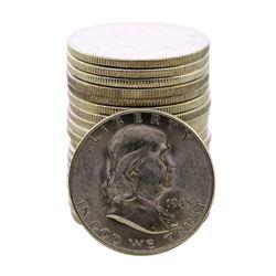 Roll of (20) Brilliant Uncirculated 1948-D Franklin Half Dollar Coins