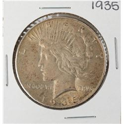 1935 $1 Peace Silver Dollar Coin