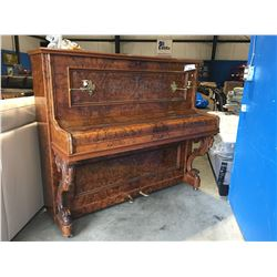 SCHIEDMAYER AND SOEHNE STUTTGART UPRIGHT PIANO