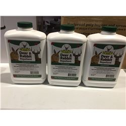 BOBBEX DEER & RABBIT REPELLENT CONCENTRATE 3 X .95 L BOTTLES